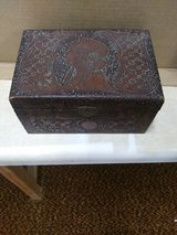 hand carved antique keepsake box in Elizabethtown, Kentucky