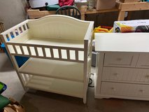 Baby Furniture Set - Crib, Dresser, Rocking Chair & Changing Table in Naperville, Illinois