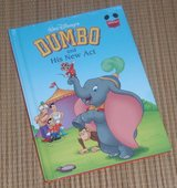 Walt Disney's Dumbo and His New Act Hard Cover Book in Morris, Illinois