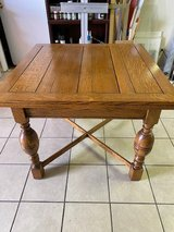 ANTIQUE LEAF DINING TABLE TIME PERIOD AGE 1900 in Yucca Valley, California