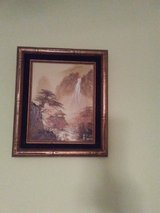 Nice waterfall oil painting in Bolingbrook, Illinois