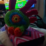 Crocheted merloc Made to order in Travis AFB, California