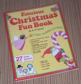 NEW Vintage 1992 Christmas Fun Book Stickers Activity Cards Ornaments Scholastic in Yorkville, Illinois