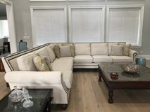 Large sectional sofa- like new in Conroe, Texas