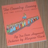 Vintage 1967 The Country Bunny and the Little Gold Shoes Soft Cover Book in Bolingbrook, Illinois
