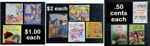 10 Children's Books, Your Choice in Tomball, Texas