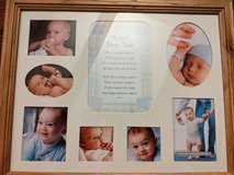 New baby picture collage in St. Charles, Illinois