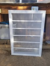Two Return Airfilter Grills 30x20 in 29 Palms, California
