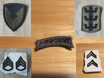 Army patches and insignia in Ramstein, Germany
