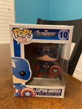 Funko Pop Captain America Bobblehead in Yorkville, Illinois