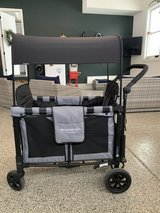 WonderFold Wagon push stroller wagon W2 with upgraded magnetic harness in Tinley Park, Illinois