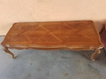 Wood Coffee Table in Yucca Valley, California
