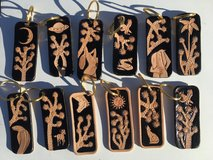 Handmade leather keychains in 29 Palms, California