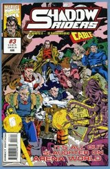 Marvel - Shadow Riders #3 Guest Starring Cable in Okinawa, Japan