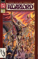 The Warlord #3: Enter the Lost World - March 1992 - DC Comics - Grell Willich. in Okinawa, Japan