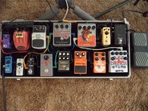 Effects pedals in Yucca Valley, California