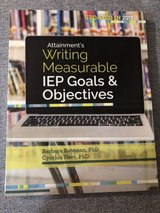 """College book """"Writing IEP goals"""" in Naperville, Illinois"""