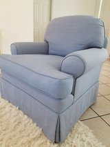 Blue Upholster chair in Yucca Valley, California