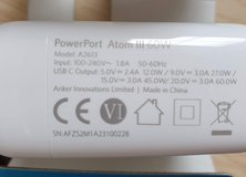Anker Travel Charger (EU plug) shipping free must have USPS address in Grafenwoehr, GE