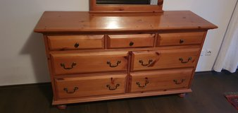 Price drop !! Dresser with mirror (See pictures) in Ramstein, Germany
