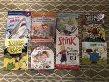 Lot of 8 kids chapter books in Travis AFB, California