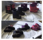 Toddler boots $5.00 each in Plainfield, Illinois