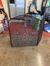 fireplace screen in Tinley Park, Illinois