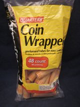 Coin Wrappers Quarters 48 Count Bag OfficeMax NEW SEALED BAG in Naperville, Illinois