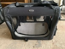 Larger pet transport box flexible no plastic in Ramstein, Germany