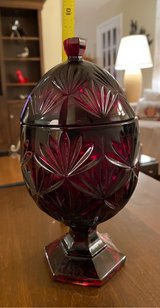 Egg-Shaped Covered Dish in Naperville, Illinois