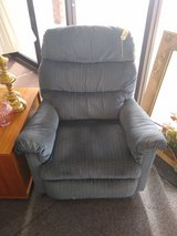 Blue Recliner in St. Charles, Illinois