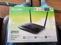 TP-LINK N600 wireless dual band router in Camp Lejeune, North Carolina