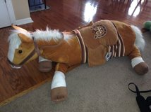 Big Stuffed Horse in Aurora, Illinois