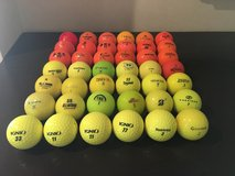 42 Colored Golf Balls (Excellent Condition) in Okinawa, Japan