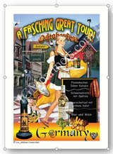 Commemorative Poster: A Fasching Great Tour! in Grafenwoehr, GE