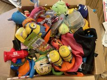 Small box of mini toys in Aurora, Illinois