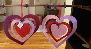 Hanging Hearts in Yorkville, Illinois