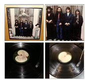 ORIGINAL BEATLES AGAIN VINYL RECORD FRAMED in Bartlett, Illinois