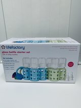 Lifefactory- Glass/ Silicone Baby Bottles Set in Beaufort, South Carolina