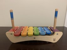 Hape wood xylophone in Beaufort, South Carolina