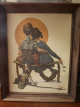 Norman Rockwell 1970's Canvas Lithograph's in frames - 5 in DeKalb, Illinois