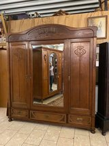 One of a kind Art Nouveau armoire in Wiesbaden, GE
