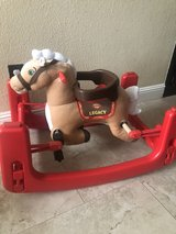 rocking horse in Travis AFB, California