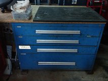 Old Vidmar tool box in Okinawa, Japan