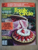 Family Circle Magazine, June-July 1982 in Wiesbaden, GE