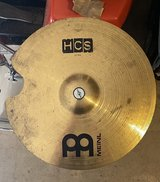 """Meinl HCS 20"""" Ride Cymbal for Drum Kit/Set (Repaired) in Yorkville, Illinois"""