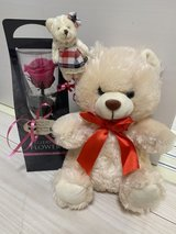 preserved flower with bear in Okinawa, Japan