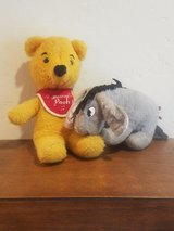 Vintage Gund Musical Pooh and Eeyore in Travis AFB, California