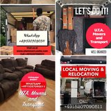 MOVING RELOCATION PICK UP AND DELIVERY TRANSPORTATION in Wiesbaden, GE