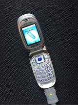 Samsung SGH X450 cell phone in Ramstein, Germany